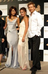 Silvia Colloca, Josie Maran and David Wenham at the promotion of