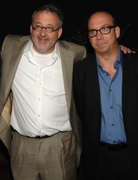 Paul Giamatti and Michael Davis at the premiere of