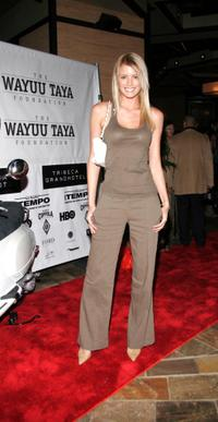 Paige Butcher at the third annual fundraising gala for Wayuu Taya Foundation.