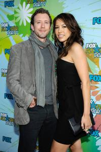 T.J. Thyne and Mia Sable at the 2009 FOX All-Star Party.
