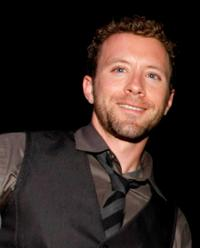 T.J. Thyne at the Fox Fall Eco-Casino party.