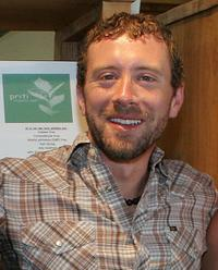 T.J. Thyne at the green living lifestyle emmy lounge.