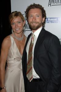 T.J. Thyne and Guest at the 21st Genesis Awards.