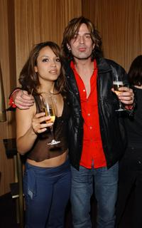 Mayte Garcia and Tommy Lee at the VH1 Divas Las Vegas Party.