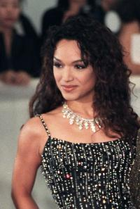 Mayte Garcia at the De Beer and Versace