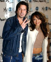 Tommy Lee and Mayte Garcia at the My VH1 Awards.