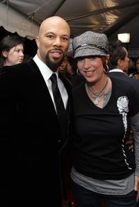 Common and Diane Warren at the world premiere of