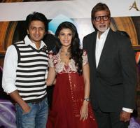 Ritesh Deshmukh, Jacqueline Fernandez and Amitabh Bachchan at the promotional event for