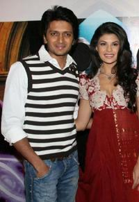 Ritesh Deshmukh and Jacqueline Fernandez at the promotional event for