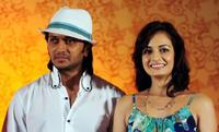 Ritesh Deshmukh and Dia Mirza at the International Indian Film Academy (IIFA) Awards.