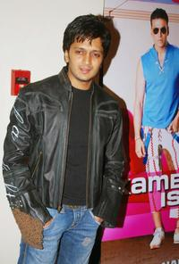Ritesh Deshmukh at the