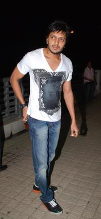 Ritesh Deshmukh at the special screening of