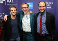 Gary Gilbert, Keith Bearden and Jordan Horowitz at the premiere of