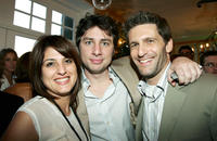 Pamela Abdy, Zach Braff and Gary Gilbert at the after party of IFC's 20th Annual IFP Independent Spirit Awards.