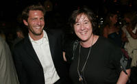 Gary Gilbert and Christine Vachon at the after party of the premiere of