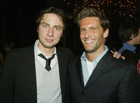 Zach Braff and Gary Gilbert at the after party of the premiere of