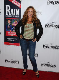 Tawny Kitaen at the opening night of