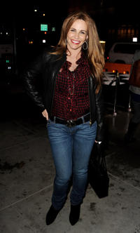 Tawny Kitaen at the California premiere of