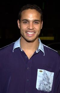 Daniel Sunjata at the premiere of