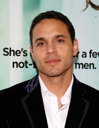 Daniel Sunjata at the New York premiere of