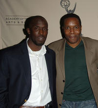 Michael Kenneth Williams and Chad Coleman at the Evening of