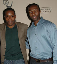 Chad Coleman and Jaime Hector at the Evening of