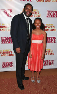Chad Coleman and Amari Rose Leigh at the opening night party of