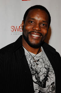 Chad Coleman at the Verizon Wireless