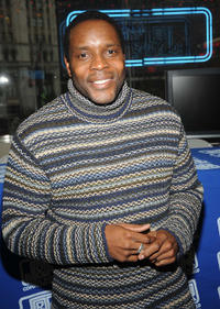 Chad Coleman at the DVD signing of