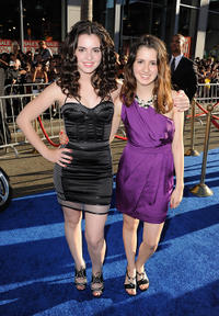 Vanessa Marano and Laura Marano at the California premiere of