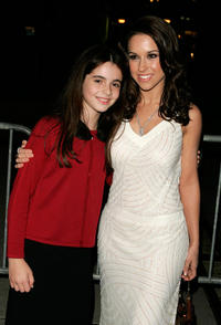 Vanessa Marano and Lacey Chabert at the New York premiere of