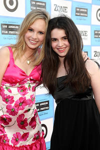 Meaghan Martin and Vanessa Marano at the opening night gala of the California premiere of