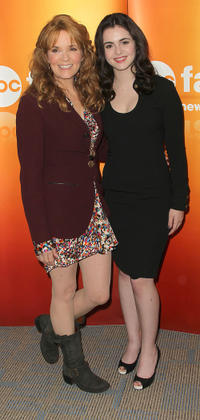 Lea Thompson and Vanessa Marano at the Disney ABC Television Group's