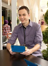 Jim Parsons at the Day 2 of Nintendo's Dragon Quest IX Experience.