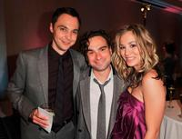 Jim Parsons, Johnny Galecki and Kaley Cuoco at the 17th Annual Alzheimer's Association's