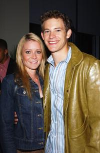 Dawn Johnson and Bryce Johnson at the after party of the premiere of