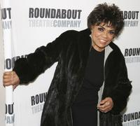 Eartha Kitt at the after-party for the opening of Roundabout Theatre Company.