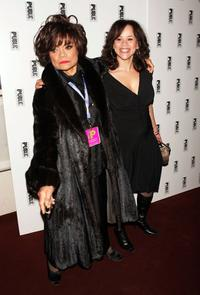 Eartha Kitt and Rosie Perez at the Public Sings: A 50th Anniversary Celebration.