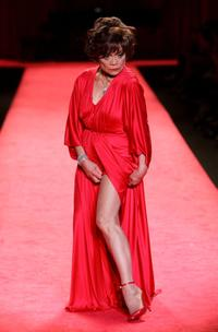 Eartha Kitt at The Heart Truth - Red Dress Fall 2006 fashion show at the 'Tent' during Olympus Fashion Week.