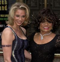 Eartha Kitt and her daughter Kitt Shapiro at the Tony Awards ceremony.