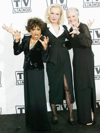 Eartha Kitt, Julie Newmar and Lee Meriwether at the 2nd Annual TV Land Awards.