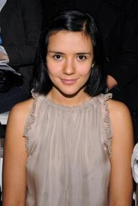 Catalina Sandino Moreno at the 3.1 Phillip Lim Fall 2008 fashion show.
