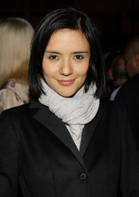 Catalina Sandino Moreno at the after party of Marc Jacobs and Louis Vuitton.