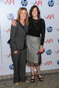 Producer Alix Madigan Yorkin and Anne Rosellini at the Eleventh Annual AFI Awards.