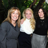 Producer Alix Madigan, Lauren Sweetser and Anne Rosellini at the Eleventh Annual AFI Awards.