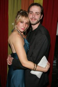 Ari Graynor and Bert V. Royal at the after party of the New York opening night of