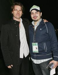 John Polson and Matthew Bonifacio at the Fifth Annual Tribeca Film Festival Tropfest.