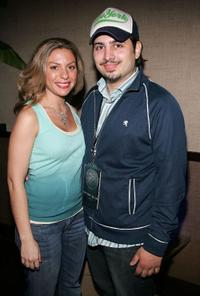 Sophia Antonini and Matthew Bonifacio at the Fifth Annual Tribeca Film Festival Tropfest pre-party.