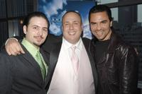 Matthew Bonifacio, Carmine Famiglietti and Manny Perez at the premiere of