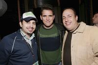 Matthew Bonifacio, Matt Dillon and Carmine Famiglietti at the after party of the Fifth Annual Tribeca Film Festival Tropfest.